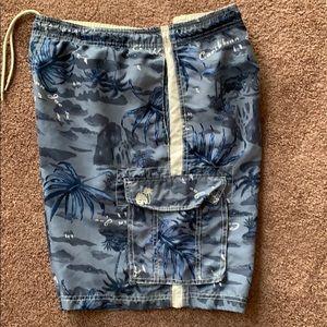 Caribbean Joe Swim Trunks XL Blue